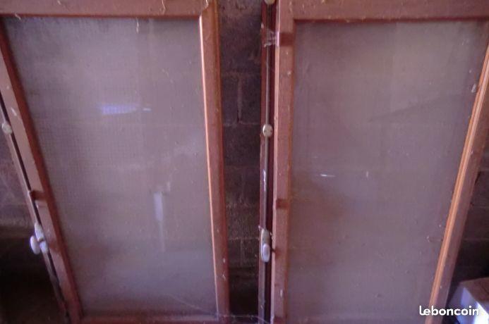 2 fenêtres en bois 72,5 x 141,5 10 Albi (81)