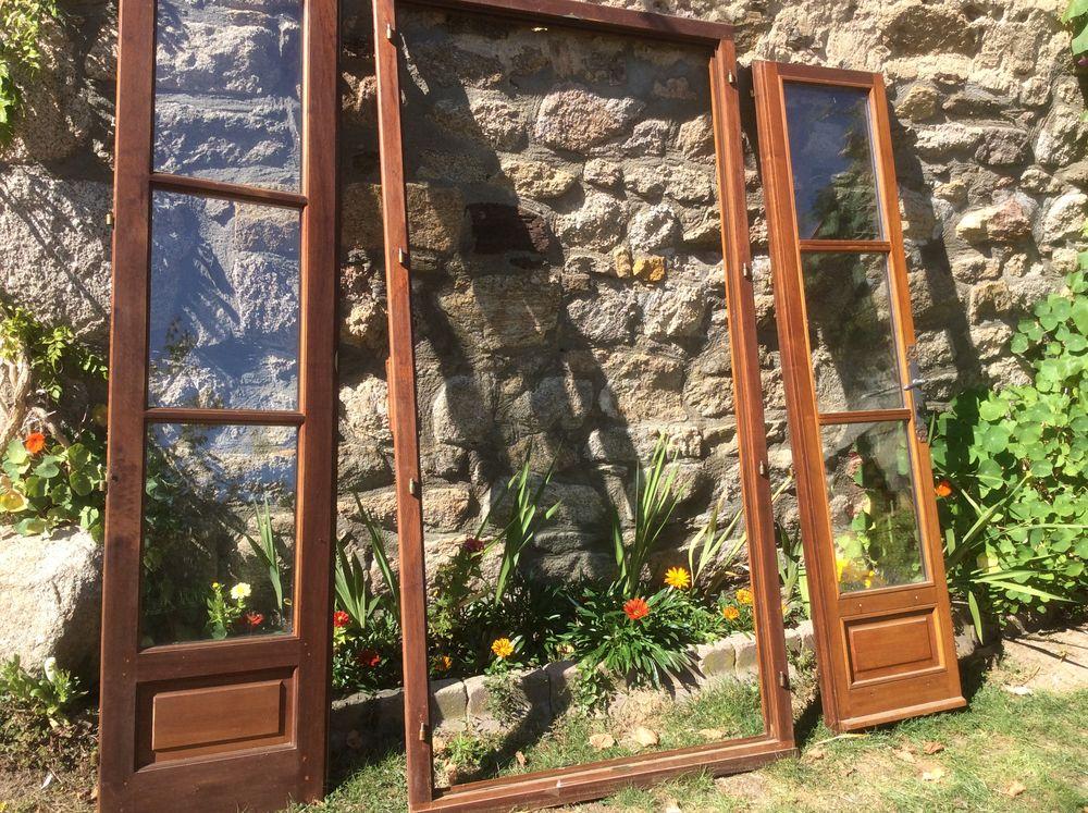 7 fenetres plus une porte fenêtre bois double vitrage  500 Soucieu-en-Jarrest (69)