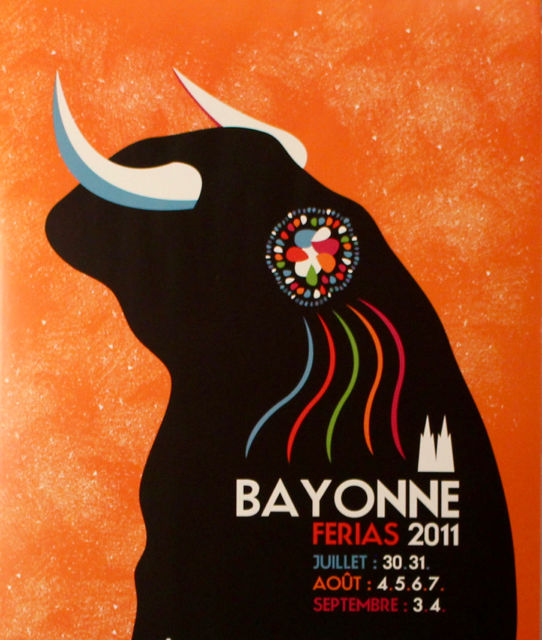 """"""" FERIA DE BAYONNE 2011 """" Décoration"""