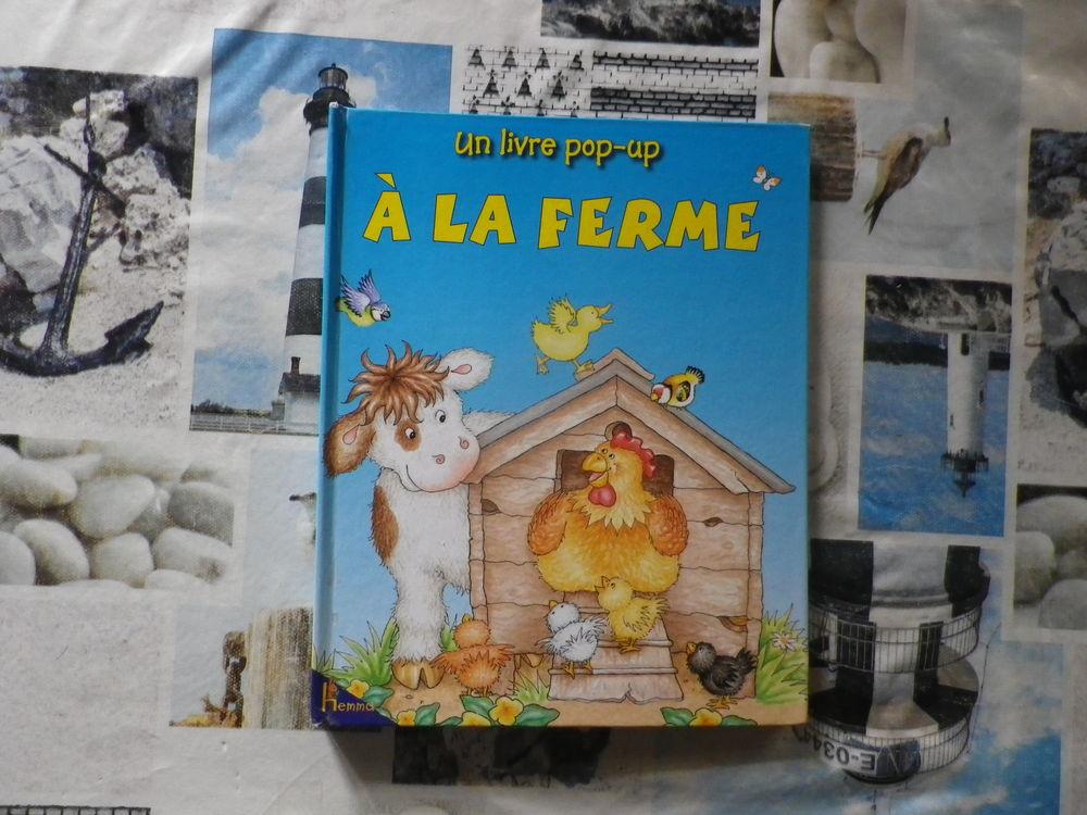 A LA FERME livre pop-up Ed. Hemma 2 Bubry (56)