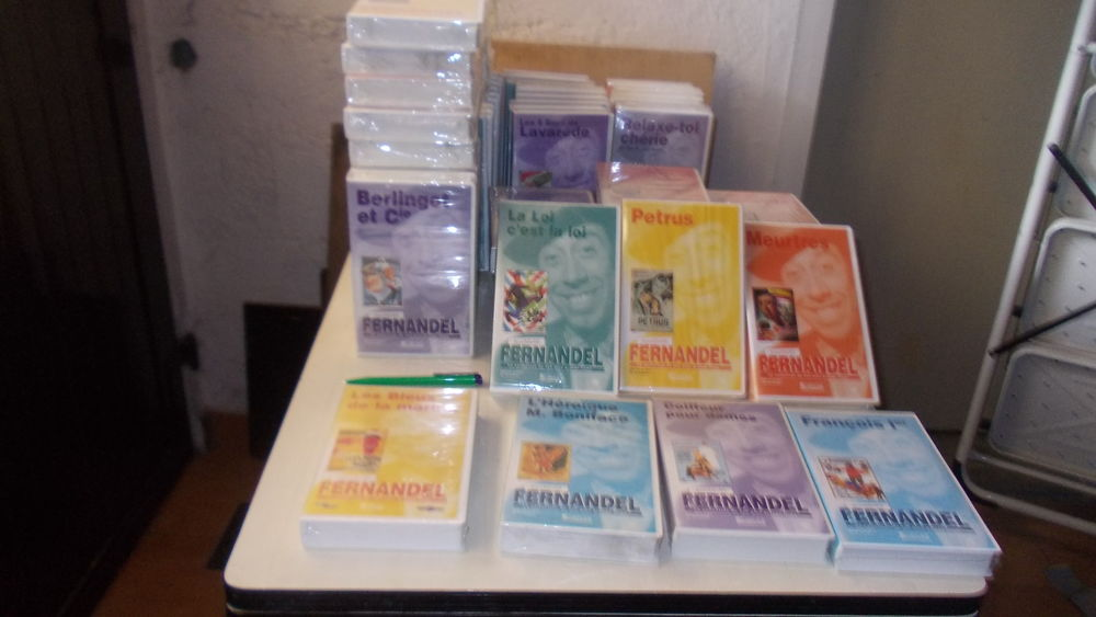 57 K7 VHS Fernandel 199 Thiais (94)