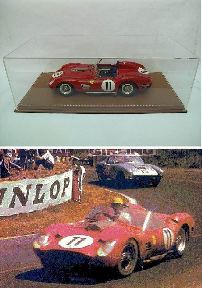 Ferrari 250TR 60 n°11 Le Mans 1960 MG Models 1/12 1600 Saint-Amand-les-Eaux (59)