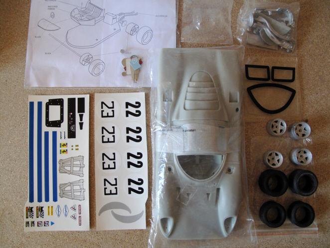 Ferrari 312P kit Resine 1/18 MG Modelplus 229 Saint-Amand-les-Eaux (59)