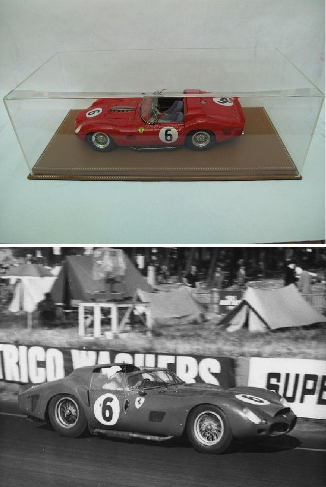 Ferrari 330TRi n°6 Le Mans 1962- MG Models 1/12 1600 Saint-Amand-les-Eaux (59)