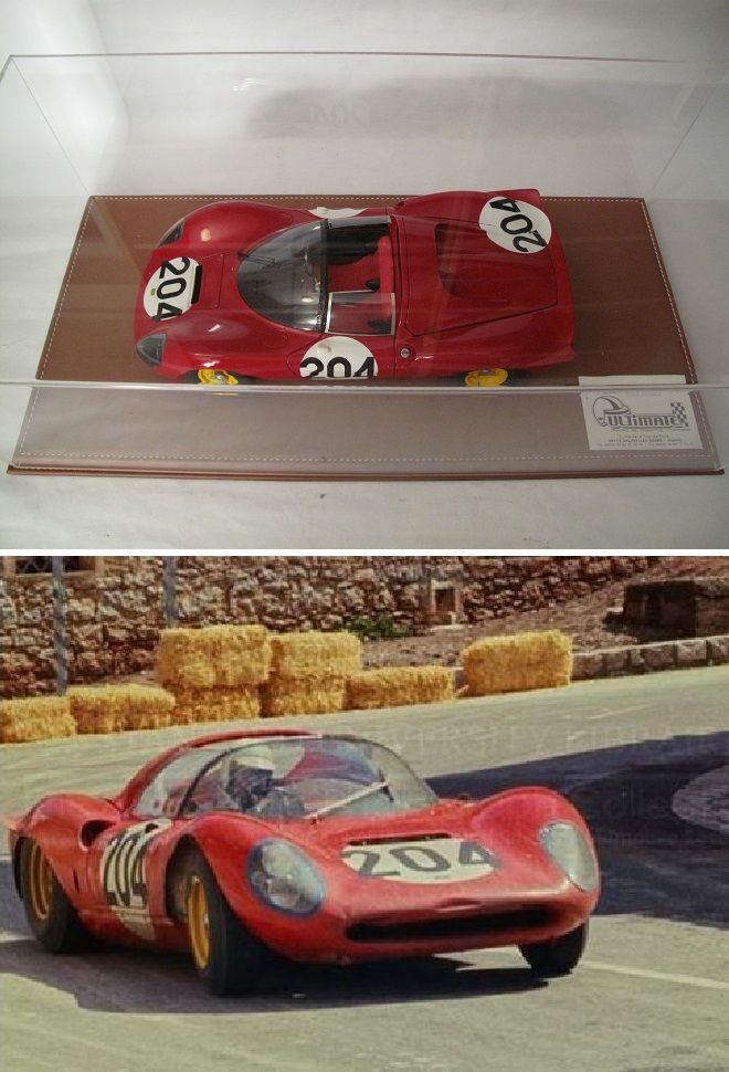 Ferrari Dino 206S Targa Florio 1966 ULTIMATE 1/12 1200 Saint-Amand-les-Eaux (59)