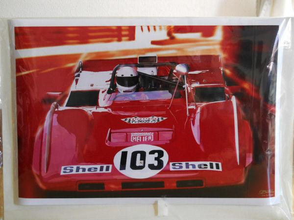 Ferrari 712 can Am Edition d'art O. Boiteux 50 Toulouse (31)