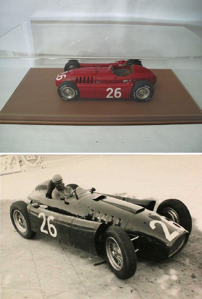Ferrari Lancia D50 n°26 Monaco 1955 MG-Models 1/12 1500 Saint-Amand-les-Eaux (59)