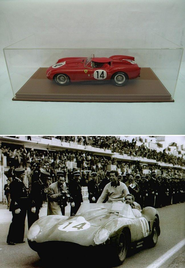 Ferrari 250 TR n°14 Le Mans 1958 MG-Models 1/12 1600 Saint-Amand-les-Eaux (59)