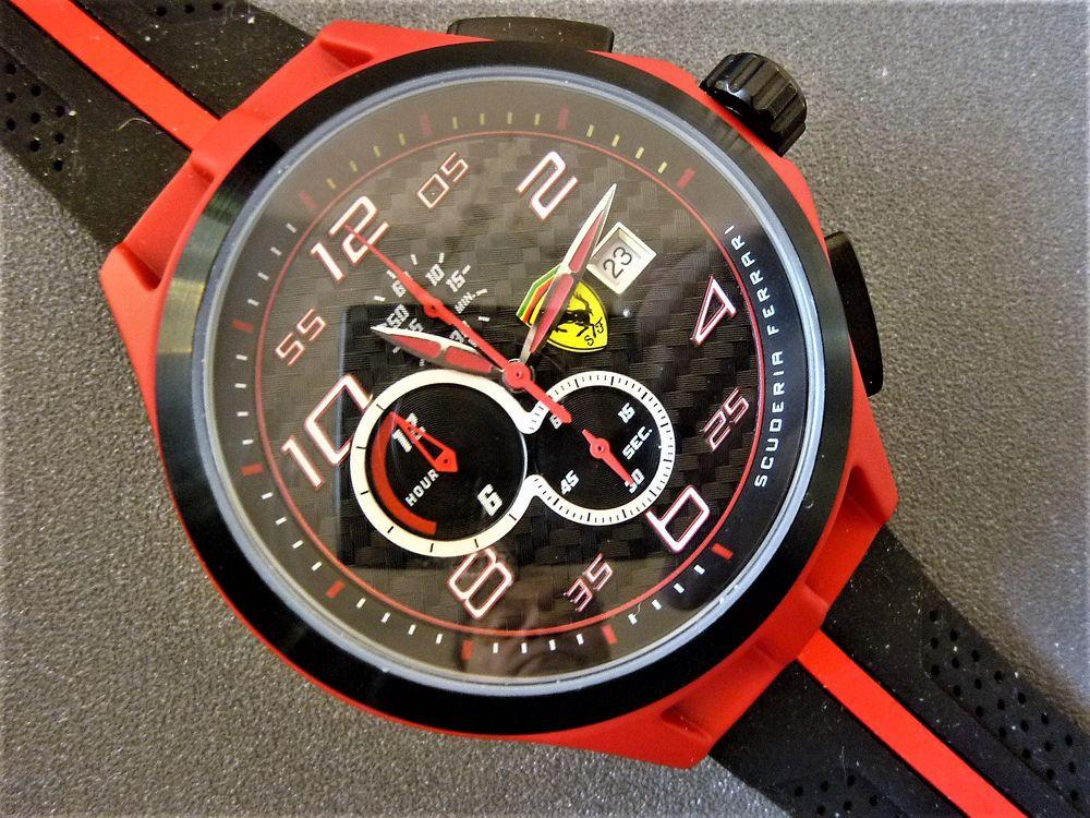 FERRARI SCUDERIA montre chrono homme série limitée 2012 SCF1 300 Metz (57)