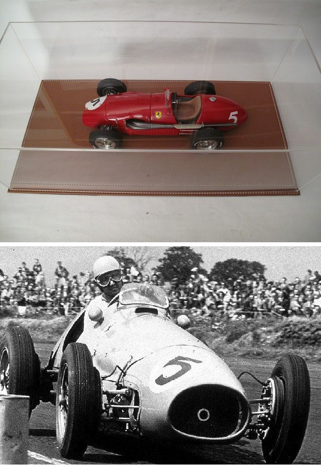Ferrari 500 F2 n°5 Silverstone 1953 MG-Models 1/12 1300 Saint-Amand-les-Eaux (59)