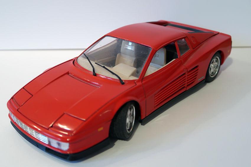 Ferrari Testa Rossa 1984 BUGARO 1/18 10 Bondoufle (91)