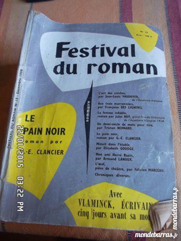 FESTIVAL DU ROMAN KIKI60230 3 Chambly (60)