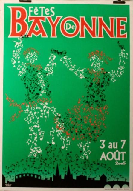 FÊTES DE BAYONNE  2005    40 Anglet (64)