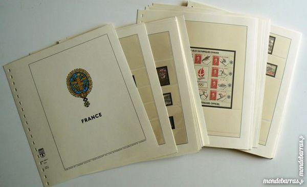 Feuilles Lindner France 1990 à 1997