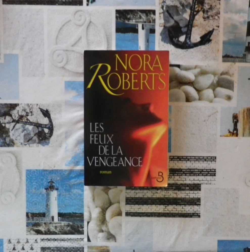 LES FEUX DE LA VENGEANCE de Nora ROBERTS Ed. Belfond 4 Bubry (56)