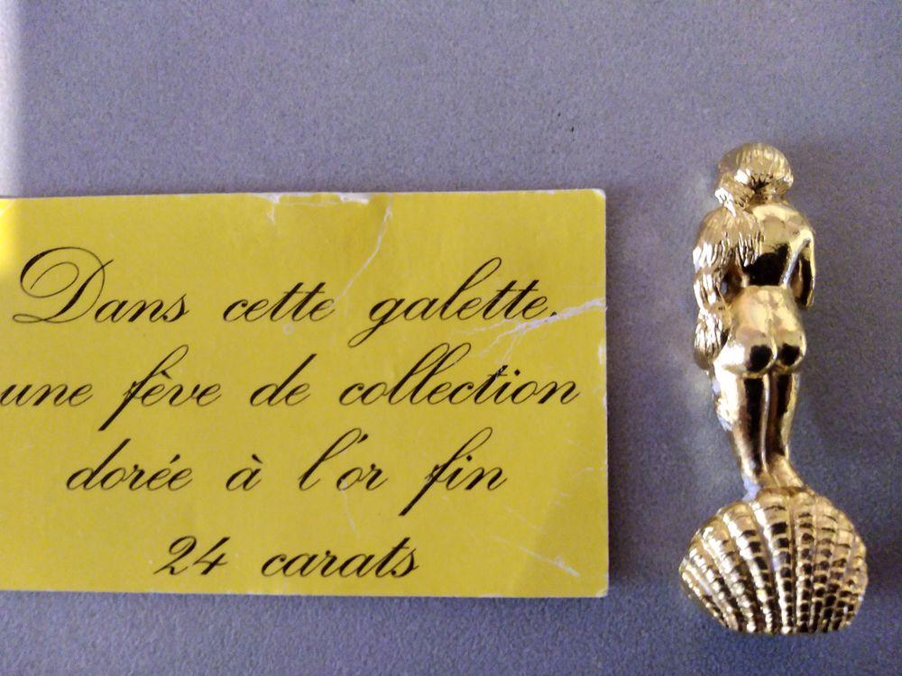 Fève dorée à l'or 24 carats 0 La Seyne-sur-Mer (83)