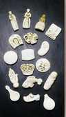 Fèves en plastique 7 Montargis (45)