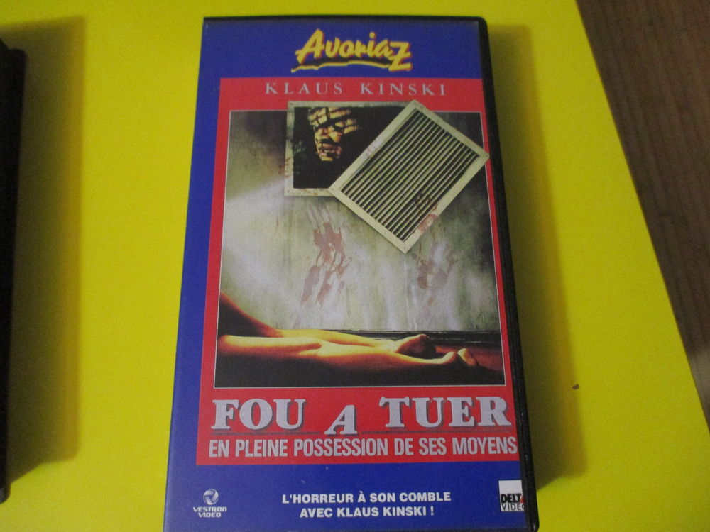 FFOU A TUER VHS KLAUS KINSKI NIGTCRAWLER HORREUR 22 Lognes (77)
