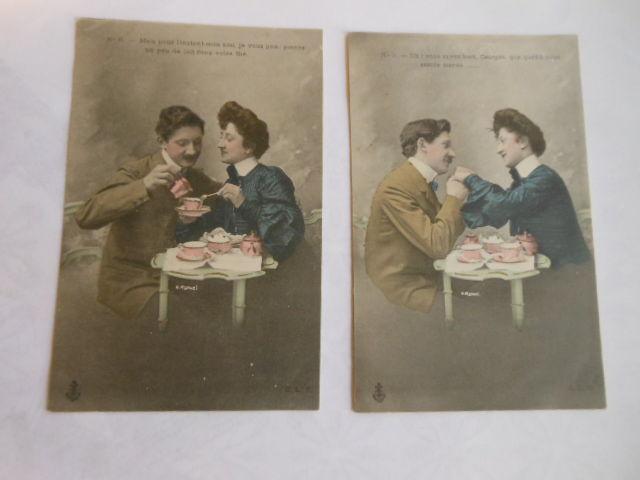 CPA les fiancés 87pa90 2 Grézieu-la-Varenne (69)
