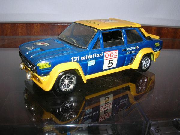 FIAT 131 ABARTH RALLYE DU MAROC 1977 1/43 SOLIDO Jeux / jouets