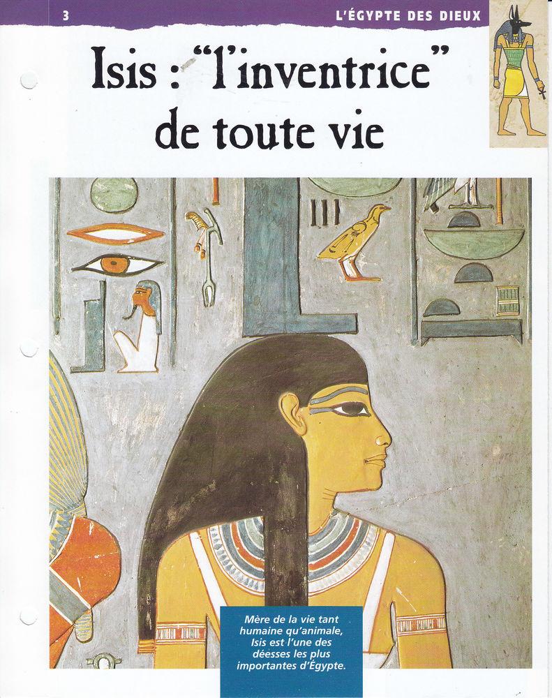 586 LOT DE 60  fiches-ouvrages CONCERNANT L'EGYPTE pour tous 0 Lunel (34)