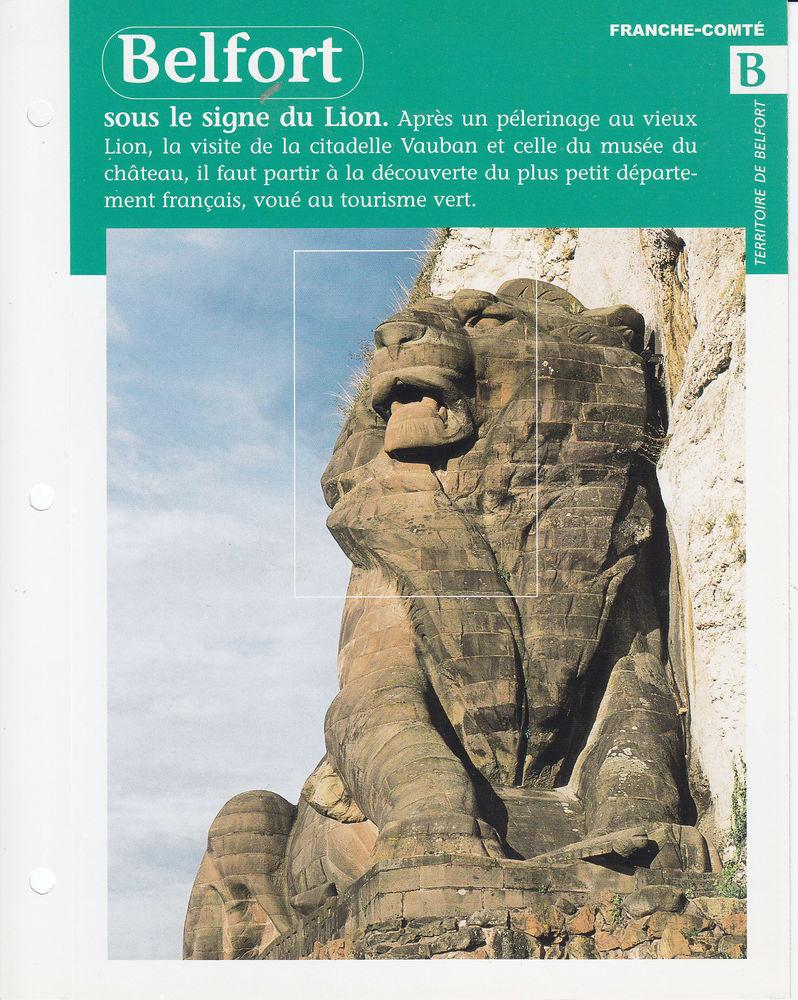 587 LOT DE 59 fiches-ouvrages LES REGIONS de France Livres et BD
