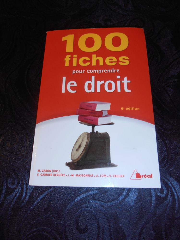 100 Fiches pour comprendre le droit (29) Livres et BD