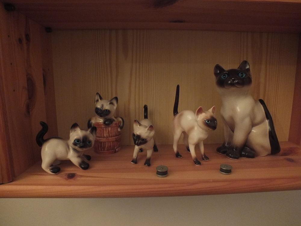 figurine de chat siamois  5 La Charité-sur-Loire (58)