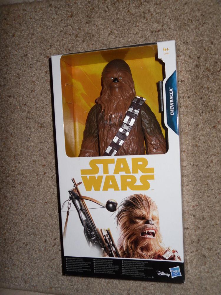 Figurine CHEWBACCA, Star Wars, 30 cm Neuf Disney 25 Neuville-de-Poitou (86)