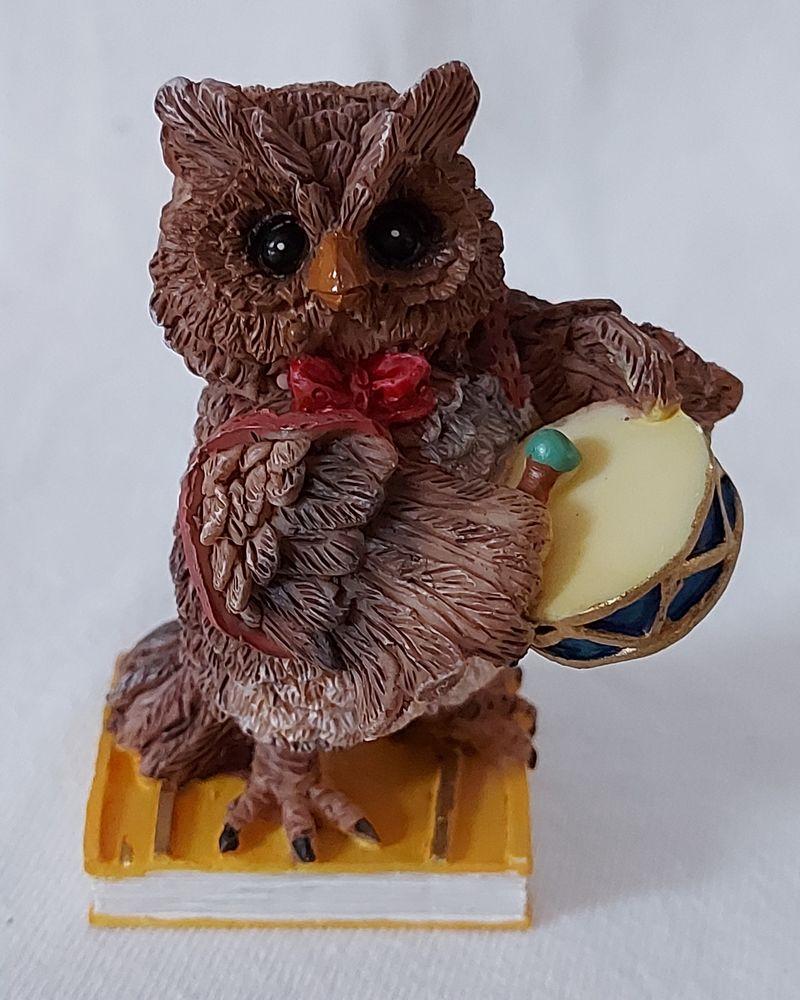 Figurine chouette avec tambourin Etat neuf 7 Taverny (95)