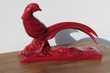 Figurine : le faisan Ch.Lemanceau ,céramique bordeaux, 1930s