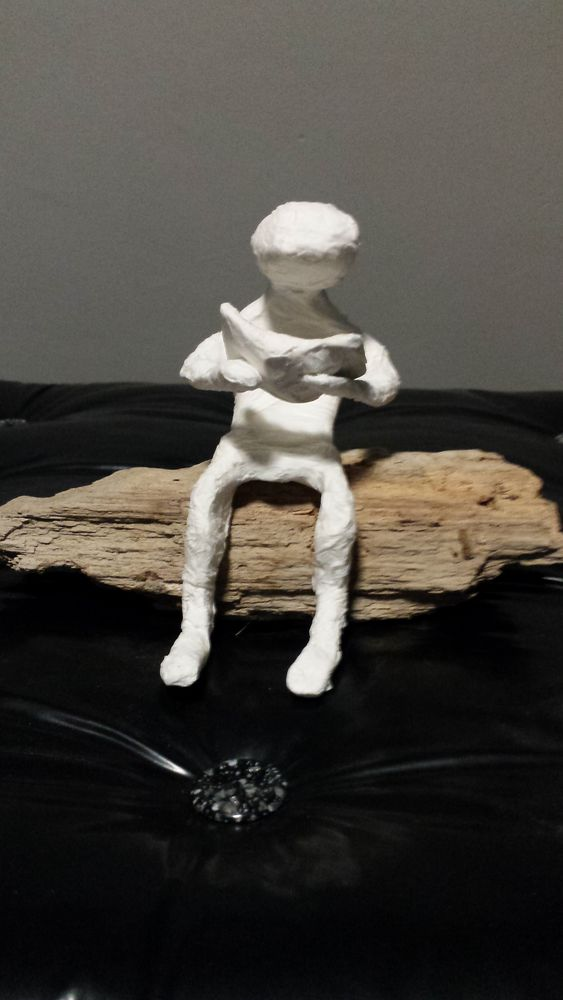 Achetez figurine fait main unique collector annonce vente villeneuve de la raho 66 wb156747223 - Deco jardin fait main caen ...