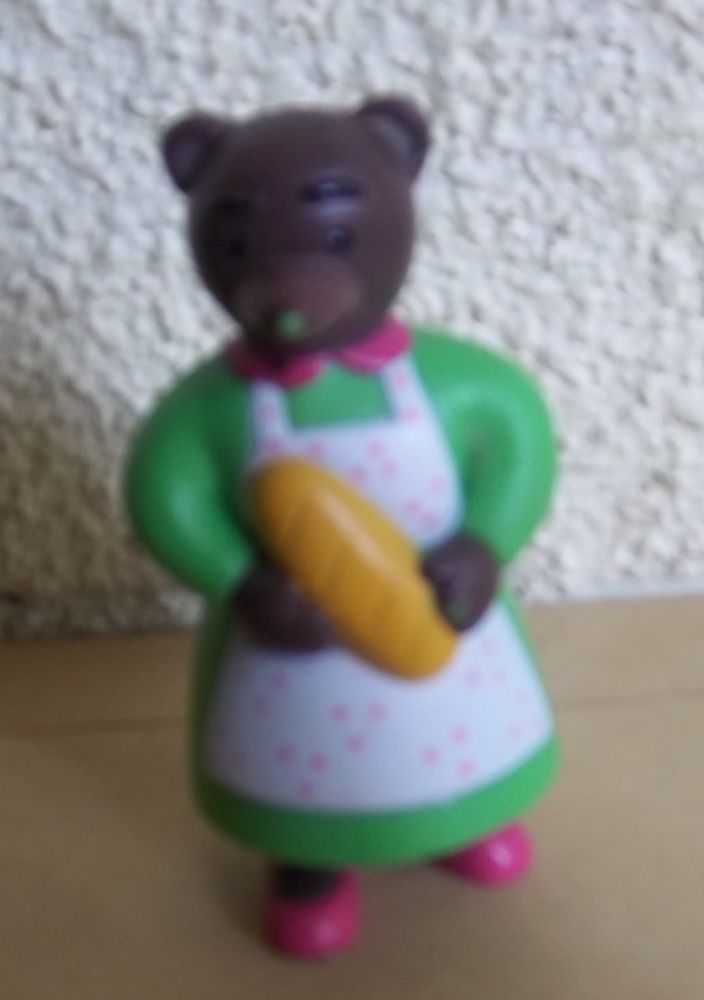 Figurine maman ours Bayard presse 2006 4 Colombier-Fontaine (25)