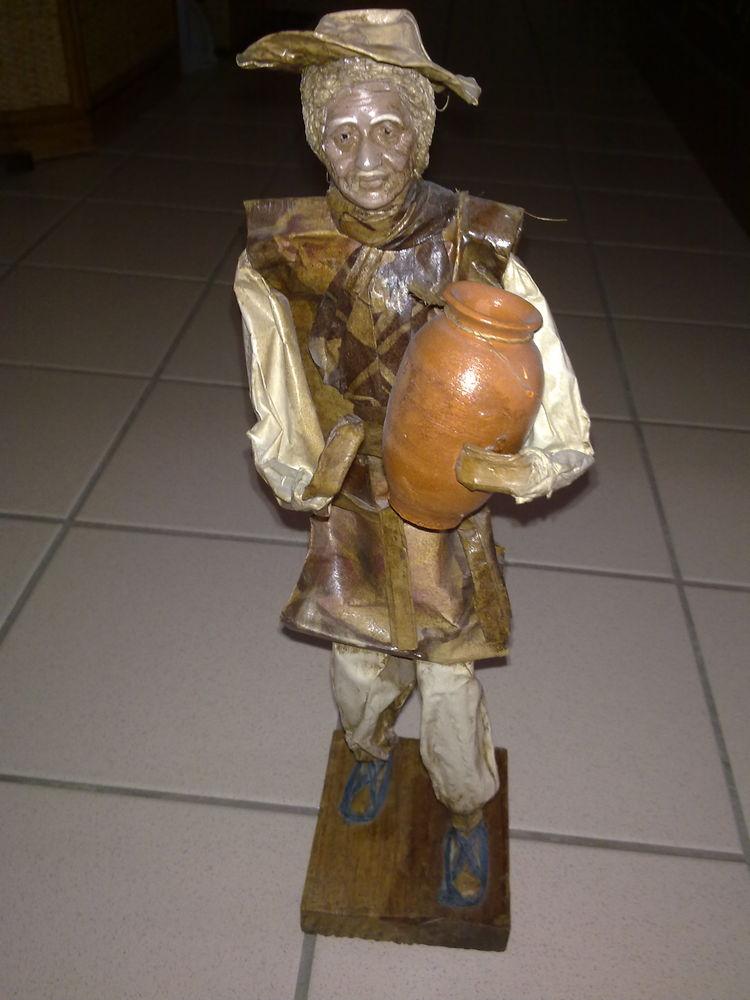 figurine paysan Mexique papier mâché 8 Clichy (92)