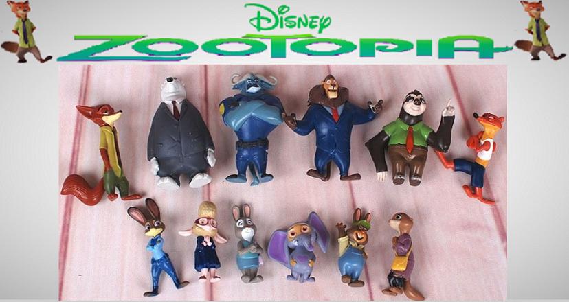 Figurine Personnages de Zootopia  12 Vesoul (70)