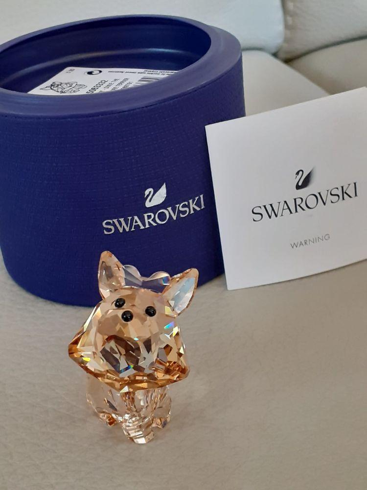 Figurine petit chien dixie le yorkshire cristal swarovski 58 Dourdan (91)