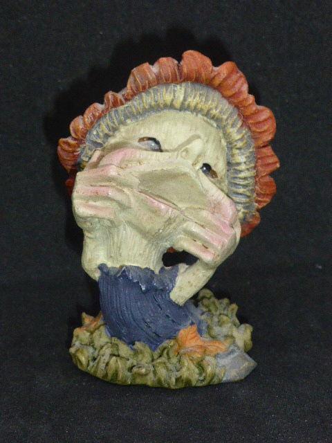 Figurine pixie chapeau champignon Décoration