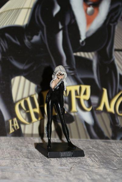 figurine en plomb  marvel eaglemoss  La chatte noire 7 Le Chambon-Feugerolles (42)