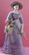 """Figurine porcelaine """"Miss Albee la fille aux parapluie"""" Avon 35 Vitry-sur-Seine (94)"""