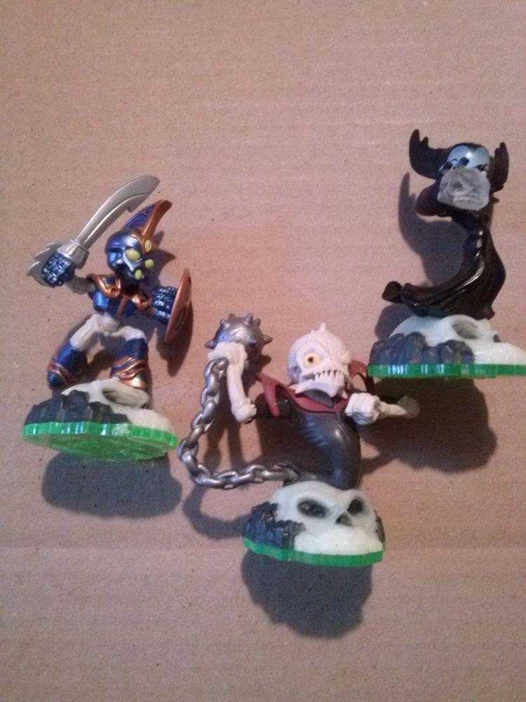 Lot de 3 figurine skylanders spiro's pour wii 15 Saint-Loubès (33)
