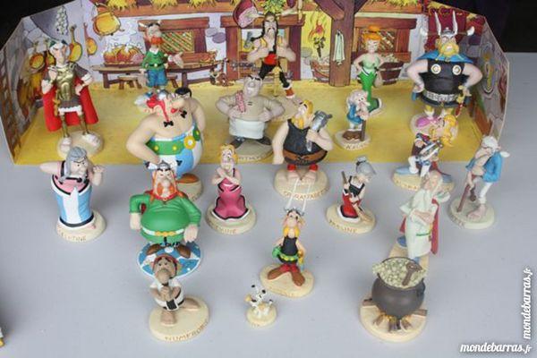 figurines ASTERIX 6 Caumont (82)