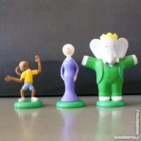 Figurines Babar en plastique 5 Cabestany (66)