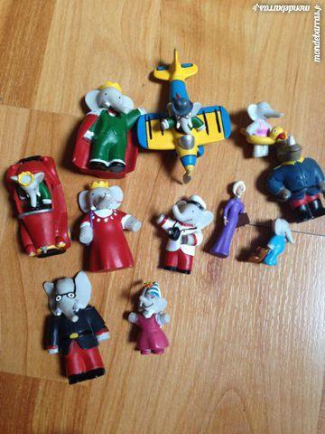 11 Figurines Babar 5 Saint-Priest (69)