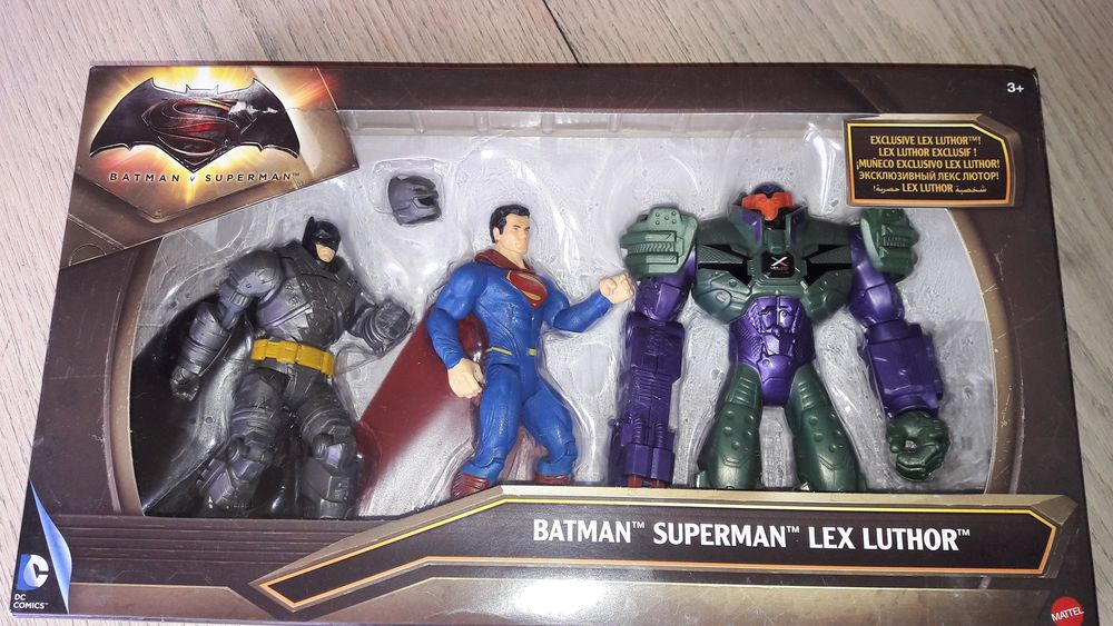 Figurines : Batman, Superman, Lex Luthor (NEUF) 20 Toulon (83)