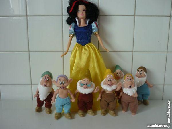 figurines blanche neige et les sept nains 25 Saint-Dizier (52)