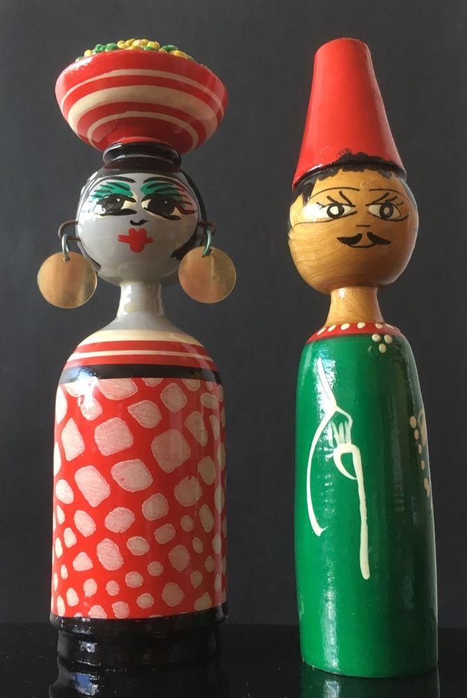 Figurines colorées en bois - Bangkok 25 Tours (37)