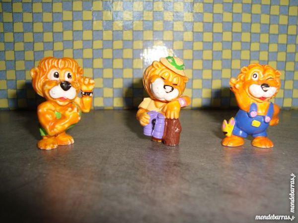 Lot  de figurines Ferrero lions 1993 3 La Verdière (83)