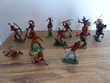 12 Figurines  W.GERMANY en parfait état.