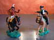 Figurines indien et  cow boy marque TIMPO