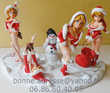 Figurines PIN UP Mary Mère Noël Cadeau Sexy Collection Villejuif (94)